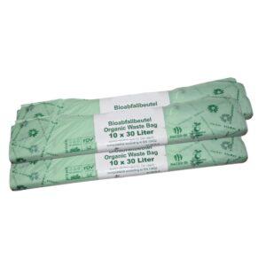 Kompostierbare Fäkalienbeutel - 30 Liter - 3er Sparset