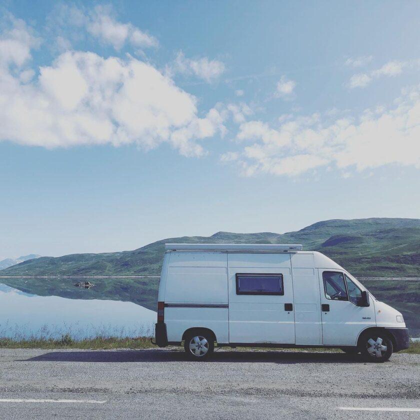 Roadtrip - Instagram Post Norwegen